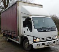Isuzu NQR 70 Curtain Side 7.5Ton Auto Lorry – Registration LK08 BCZ, First Registered 4th March