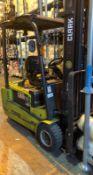 Clark GTX20S Forklift Truck, (2014), Serial Number: GTX162-1652-9675KF, Capacity 2000kg (Located