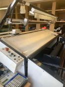 Phillips Textiles Cutting Machine, Serial Number: 5588/971290 with Inotec Star DP8340 Automation &