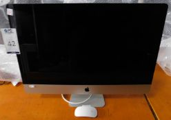 Apple iMac 27inch 2.7Ghz, Core i5, Model Number: A1312, Serial Number: C02HK29YDHJP (Located