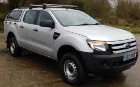 Ford Ranger Pick Up, Double Cab XL, 2.2 TDCi 150, Registration AF13 XFD, First Registered 16th April