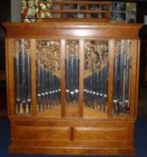 """MANDER FOUR STOP CHEST ORGAN Known as """"The Millennium Organ"""" (Located in Bethnal Green, London)"""