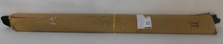 Dafar Black Matt Box Calf Leather (8.24sq m) Grade 2 (Located Brentwood – See General Notes)