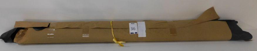 Dafar Black Matt Box Calf Leather (15.48sq m) Grade 2 (Located Brentwood – See General Notes)
