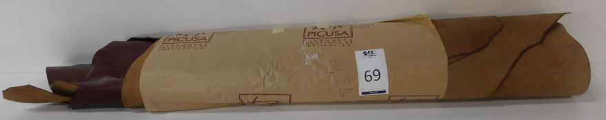 Novo Natura 1.6/1.8 Picusa Chestnut Leather (73.25 sq ft) (Located Brentwood – See General Notes)
