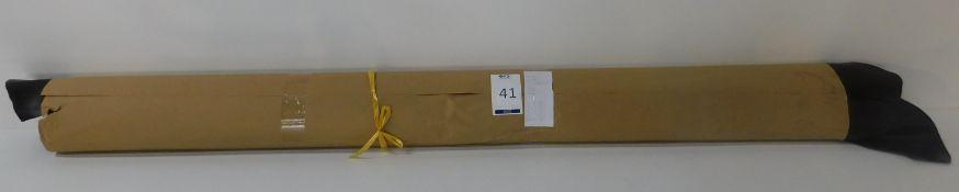 Dafar Black Matt Box Calf Leather (11.35sq m) Grade 2 (Located Brentwood – See General Notes)