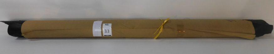 Dafar Black Matt Box Calf Leather (10.93sq m) Grade 2 (Located Brentwood – See General Notes)
