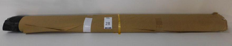Dafar Black Matt Box Calf Leather (10.91sq m) Grade 2 (Located Brentwood – See General Notes)