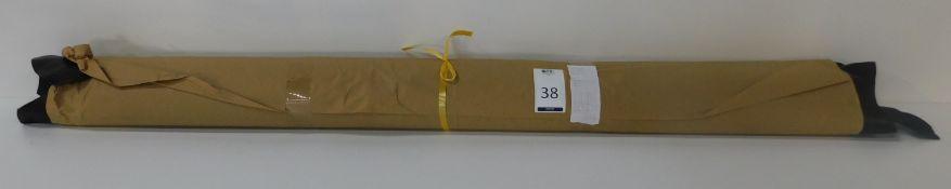 Dafar Black Matt Box Calf Leather (11.79sq m) Grade 2 (Located Brentwood – See General Notes)