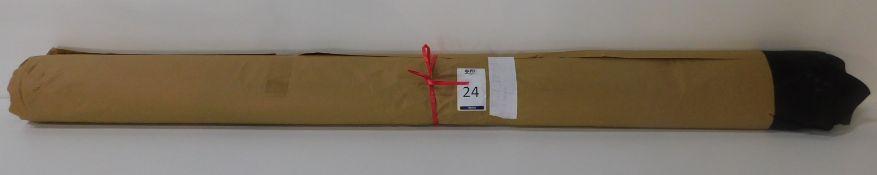 Dafar Black Matt Box Calf Leather (9.85sq m) Grade 3 (Located Brentwood – See General Notes)