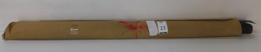 Dafar Black Matt Box Calf Leather (4.85sq m) Grade 3 (Located Brentwood – See General Notes)