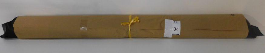 Dafar Black Matt Box Calf Leather (10.34sq m) Grade 2 (Located Brentwood – See General Notes)