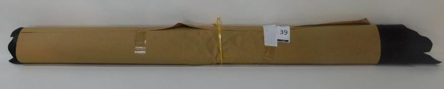 Dafar Black Matt Box Calf Leather (11.70sq m) Grade 2 (Located Brentwood – See General Notes)