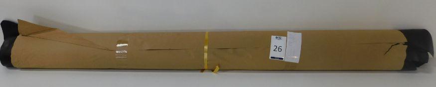 Dafar Black Matt Box Calf Leather (10.72sq m) Grade 2 (Located Brentwood – See General Notes)