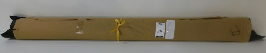 Dafar Black Matt Box Calf Leather (9.68sq m) Grade 2 (Located Brentwood – See General Notes)