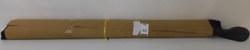 Dafar Black Matt Box Calf Leather (11.65sq m) Grade 2 (Located Brentwood – See General Notes)