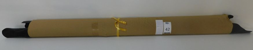 Dafar Black Matt Box Calf Leather (10.78sq m) Grade 2 (Located Brentwood – See General Notes)