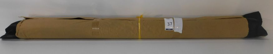 Dafar Black Matt Box Calf Leather (12.23sq m) Grade 2 (Located Brentwood – See General Notes)