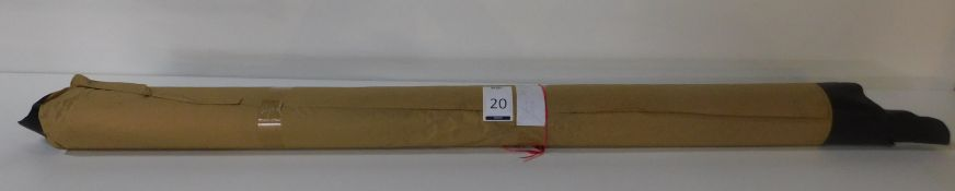 Dafar Black Matt Box Calf Leather (10.4sq m) Grade 3 (Located Brentwood – See General Notes)
