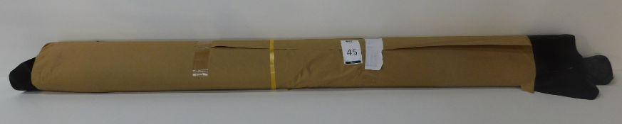 Dafar Black Matt Box Calf Leather (10.4sq m) Grade 2 (Located Brentwood – See General Notes)