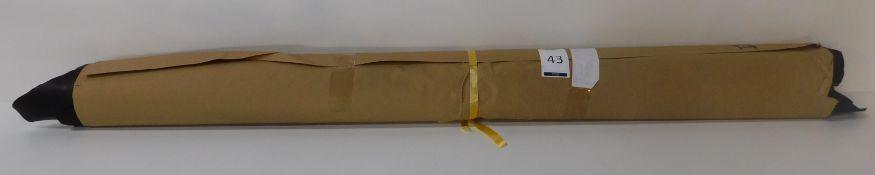 Dafar Black Matt Box Calf Leather (10.11sq m) Grade 2 (Located Brentwood – See General Notes)