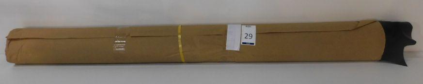 Dafar Black Matt Box Calf Leather (10.46sq m) Grade 2 (Located Brentwood – See General Notes)
