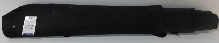 Marlborough Black Country Grain Leather (4.91sq m) Grade 1 (Located Brentwood – See General Notes)