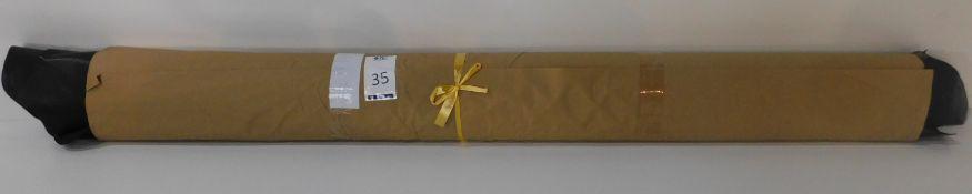 Dafar Black Matt Box Calf Leather (12.29sq m) Grade 2 (Located Brentwood – See General Notes)