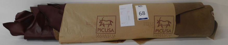Novo Natura 1.6/1.8 Picusa Chestnut Leather (113.5 sq ft) (Located Brentwood – See General Notes)