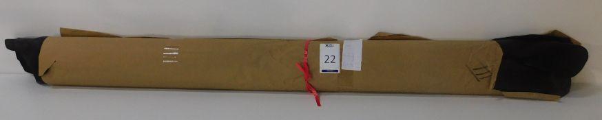 Dafar Black Matt Box Calf Leather (10.83sq m) Grade 3 (Located Brentwood – See General Notes)