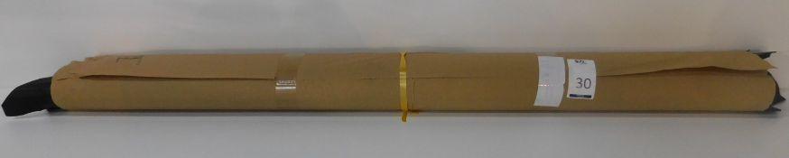 Dafar Black Matt Box Calf Leather (9.89sq m) Grade 2 (Located Brentwood – See General Notes)