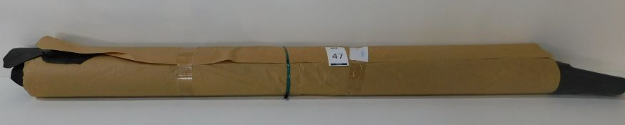 Dafar Black Matt Box Calf Leather (12.64sq m) Grade 1 (Located Brentwood – See General Notes)