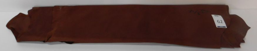 Euroleathers Col 1890 Polo Marr Castorino Leather (62.75 sq ft) (Located Brentwood – See General