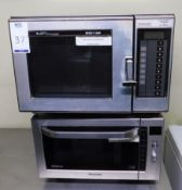 Panasonic NN-CF778S Commercial Microwave & an Amana Radarange Ditto (Location Bloomsbury - See