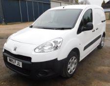 Peugeot PARTNER L1,850 1.6 HDi 92 Professional Van, Registration MM15 FJU, First Registered 31st May