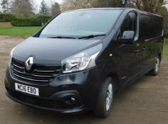 Renault TRAFIC LWB, LL29dCi 115 Sport Van, Registration MC16 EBO, First Registered 30th June 2016,