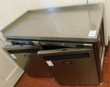Stainless Steel Preparation Table (To Exclude Lots 25 & 26) (Location Bloomsbury - See General Notes