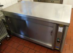 CED HC Stainless Steel Hot Cabinet, Serial Number 59832 (Location Bloomsbury - See General Notes for