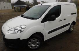 Peugeot PARTNER L1 850 1.6 HDi 92 Professional Van, Registration MA15 ZTY, First Registered 31st