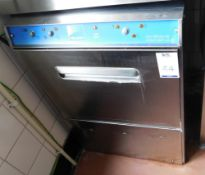 Nelson Stainless Steel Undercounter Glasswasher (Location Bloomsbury - See General Notes for More