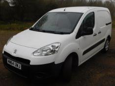 Peugeot PARTNER L1 850 1.6 HDi 92 Professional Van, Registration MW64 UWJ, First Registered 30th