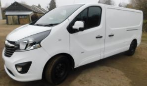 Vauxhall VIVARO L2, 2900 1.6CDTI 120PS Sportive H1 Van, Registration DN67 DBY, First Registered 30th