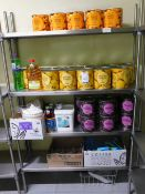 Quantity Tinned Food Stock(Excluding Shelving)(Location Bloomsbury - See General Notes for More