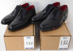 Alfred Sargent 7093 Black CAP Brogues Size 4.5 & Alfred Sargent Ramone Brogue Size 6.5 (Slight