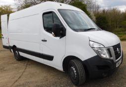 NISSAN NV400 F33 L2 2.3 dCi 125ps H2 SE Van, Registration GM65 CYT, First Registered 21st December