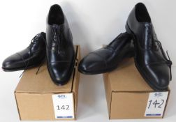 Alfred Sargent Black CAP Oxford Size 6.5 & Sid Mashburn Black CAP Oxford Size 13 (Slight Seconds) (