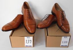 2 Pairs of Peal & Co 100029132 tan CAP, Sizes 7.5 & 11.5 (Slight Seconds) (Location Brentwood -