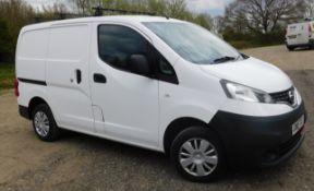 NISSAN NV200 1.5 dCi 110 Acenta Van, Registration GN15 TGZ, First Registered 27th March 2015, MOT