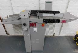 Morgana DocuMaster 708203 Auto Creaser, Serial Number 780022W, Single Phase (Location: Hatfield -