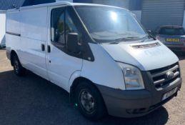 Ford Transit 300 SWB FWD Low Roof Van TDCi 85ps, Registration V3 CDP , First Registered 22nd April